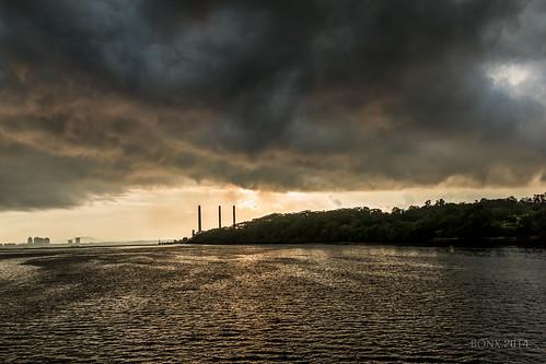 morning clouds dark darkclouds stormclouds