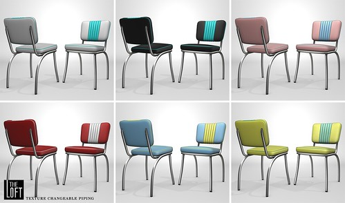 Gerrzo Retro Chairs @ Collabor88 - May