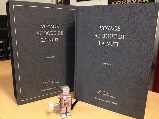 Voyage au bout de la nuit (Céline) manuscrit originel