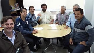 Dehon Aparecido Toso, de Estrela do Norte, tem reunião na sede do Solidariedade-SP