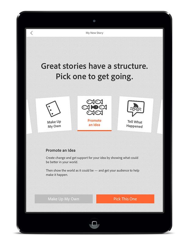 Adobe Voice - Story Starter