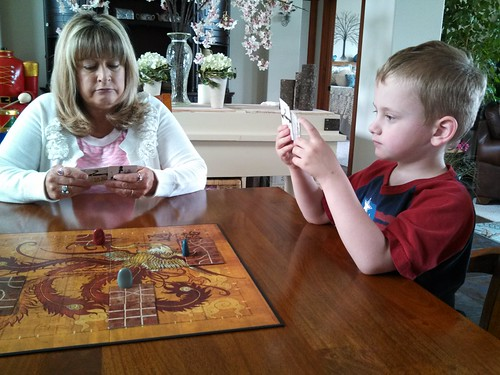 Playing Tsuro