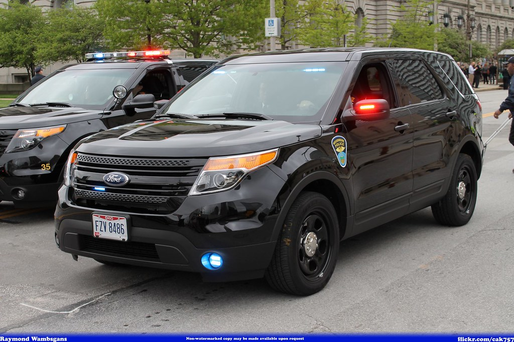 Woodmere Ohio Police Ford Explorer