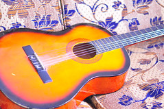 string instrument, yellow, slide guitar, acoustic guitar, guitar, acoustic-electric guitar, bass guitar, string instrument,