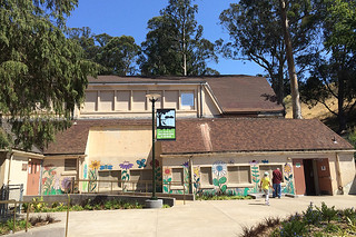 Glen Park Recreational Center - Existing recreational center and bathrooms
