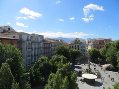 Our Airbnb apartment in Plaza Bib Rambla - Granada, Spain