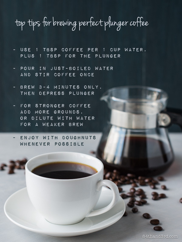 Tips for plunger coffee