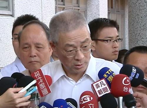 吳敦義強調廠商投產不受影響