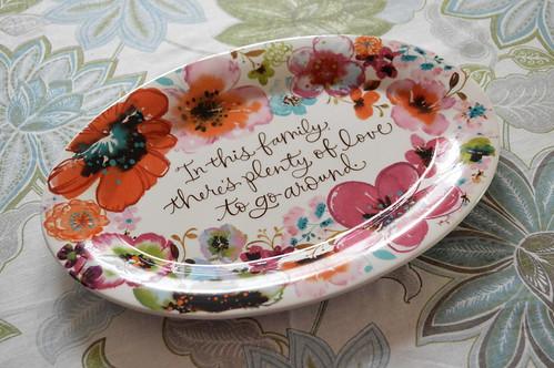 Plenty of Love platter