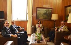 Eloisa Arruda reuniu-se com o desembargador José Carlos Ferreira Alves