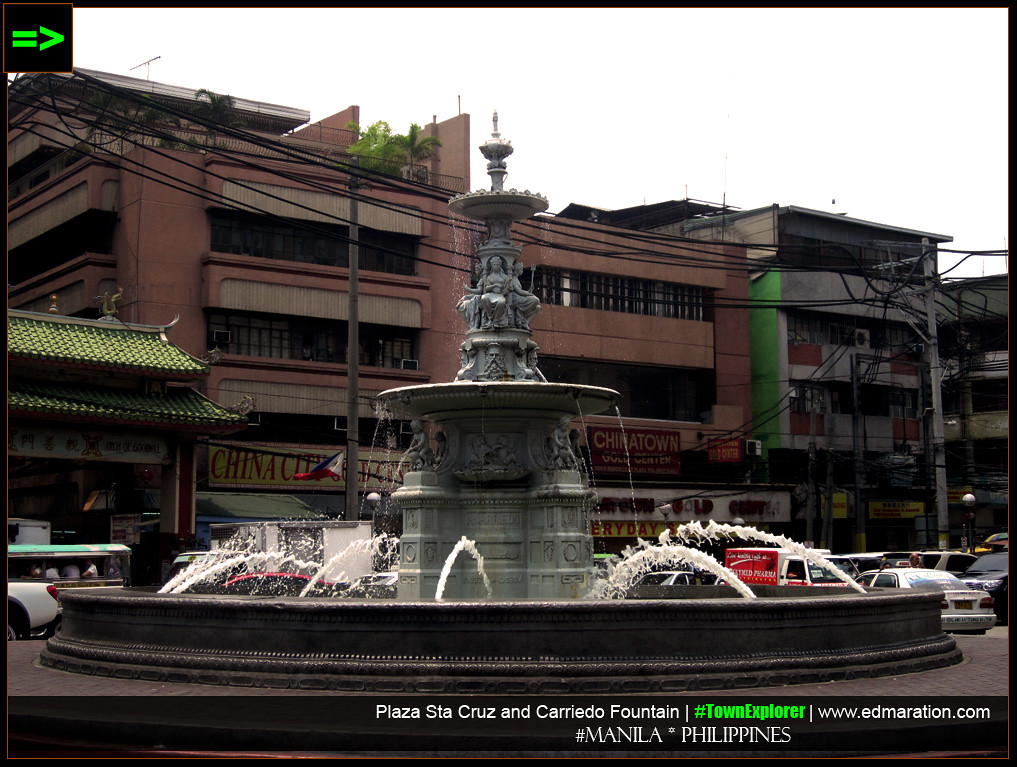 Carriedo Fountain, Manila