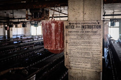 Notice And Instruction | Lonaconing Silk Mill | Lonaconing MD