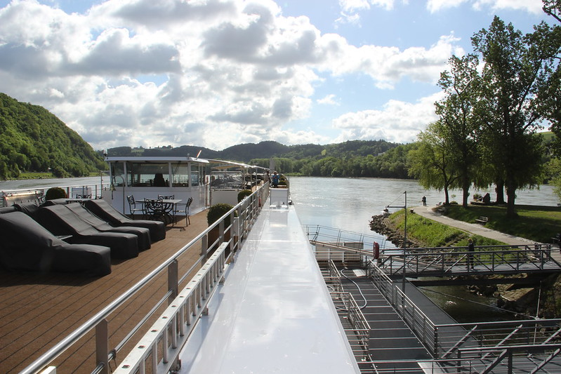 Uniworld River Cruises River Beatrice in Passau Germany