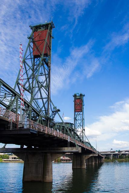 Portland's Hawthorne Bridge