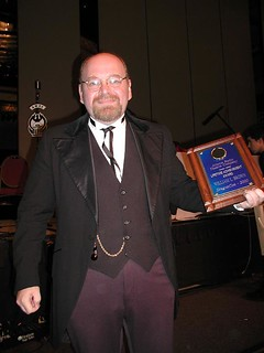 William L. Brown accepts the ARTC Lifetime Achievement Award