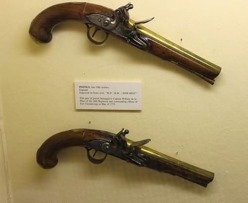de la Place pistols