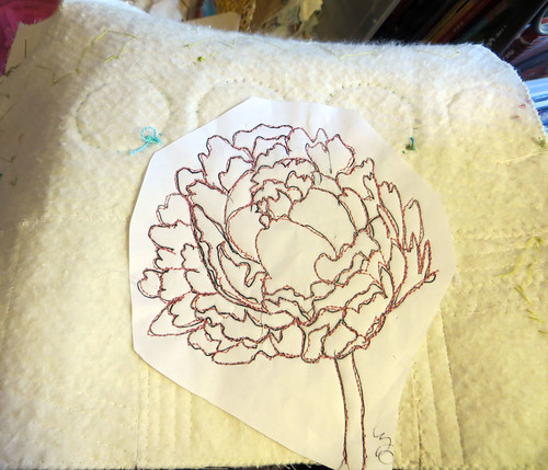 French Peonies ~ in progress
