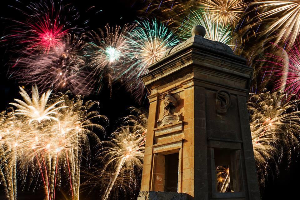 Malta Fireworks Festival 2014