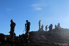 Activity in Puncak Merapi Mount Dempo