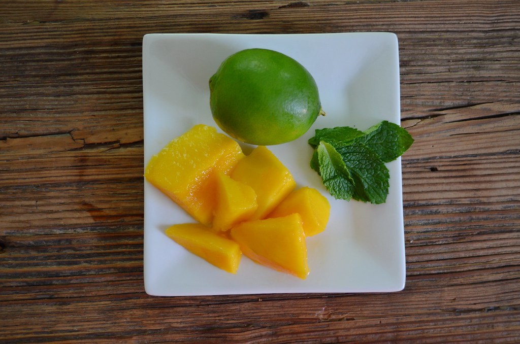 Mojito mango ingredients