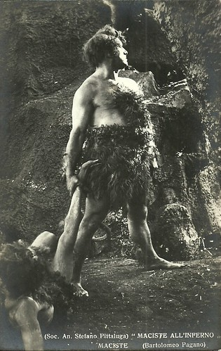 Bartolomeo Pagano in Maciste all'inferno (1926)