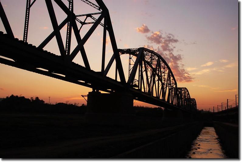 高屏舊鐵橋夕照 33