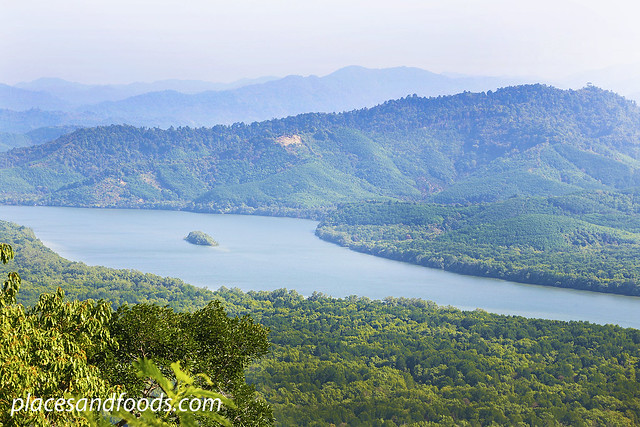 khao fa chi view point scenery