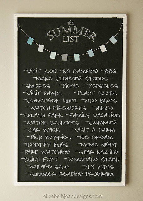 The Summer List 2