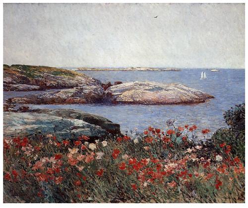 004 Amapolas- 1891-Pintura al Oleo- Childen Hassam