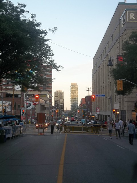 Looking south on Church towards College (1)