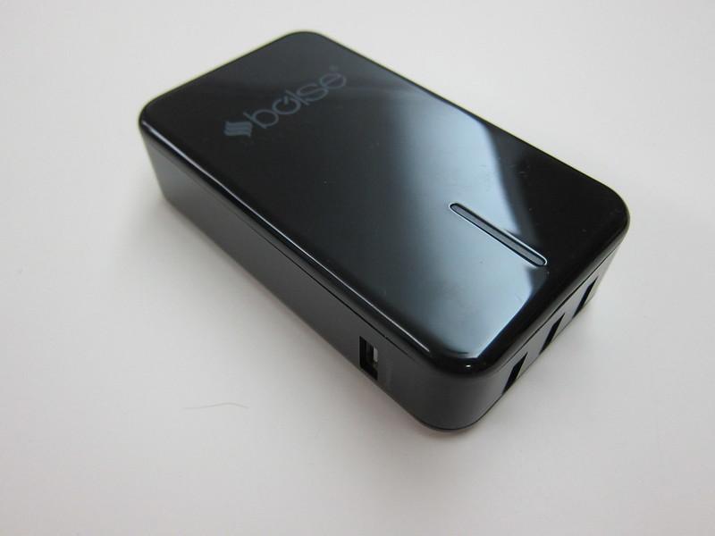 Bolse 40W (5V/8A) 5-Port USB Wall/Desktop Charger