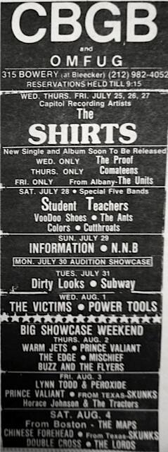 CBGB 07-25-79