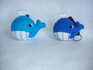 Ballenas de Fieltro