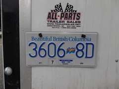 Commerical Trailer License Plates