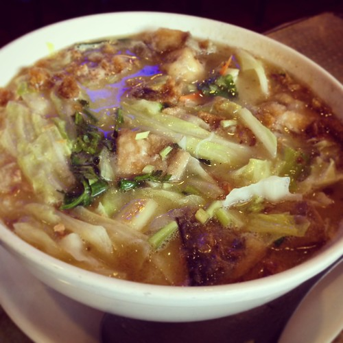 Silver pomfret rice noodle
