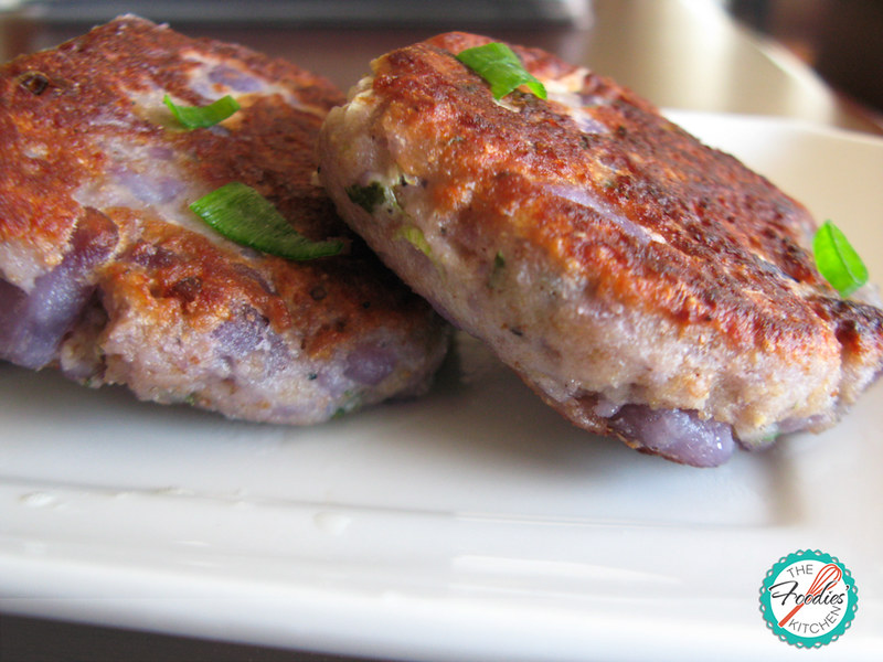 Purple Potato Patties
