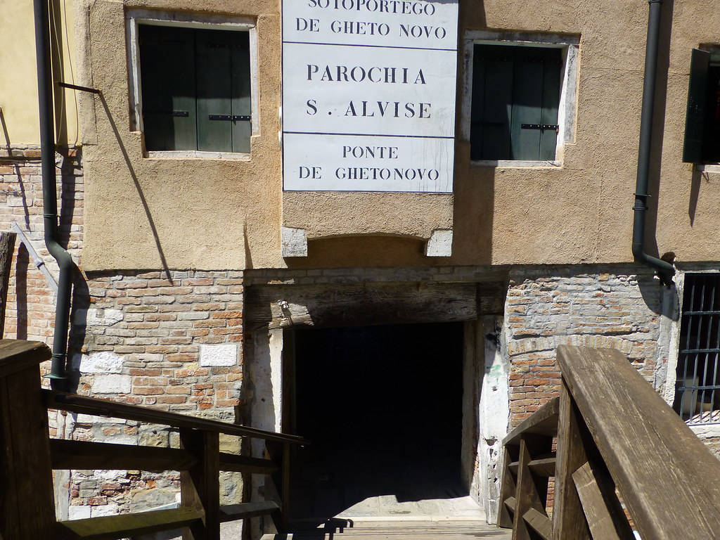 Entrance to the Ghetto
