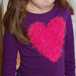Tulle Heart Applique