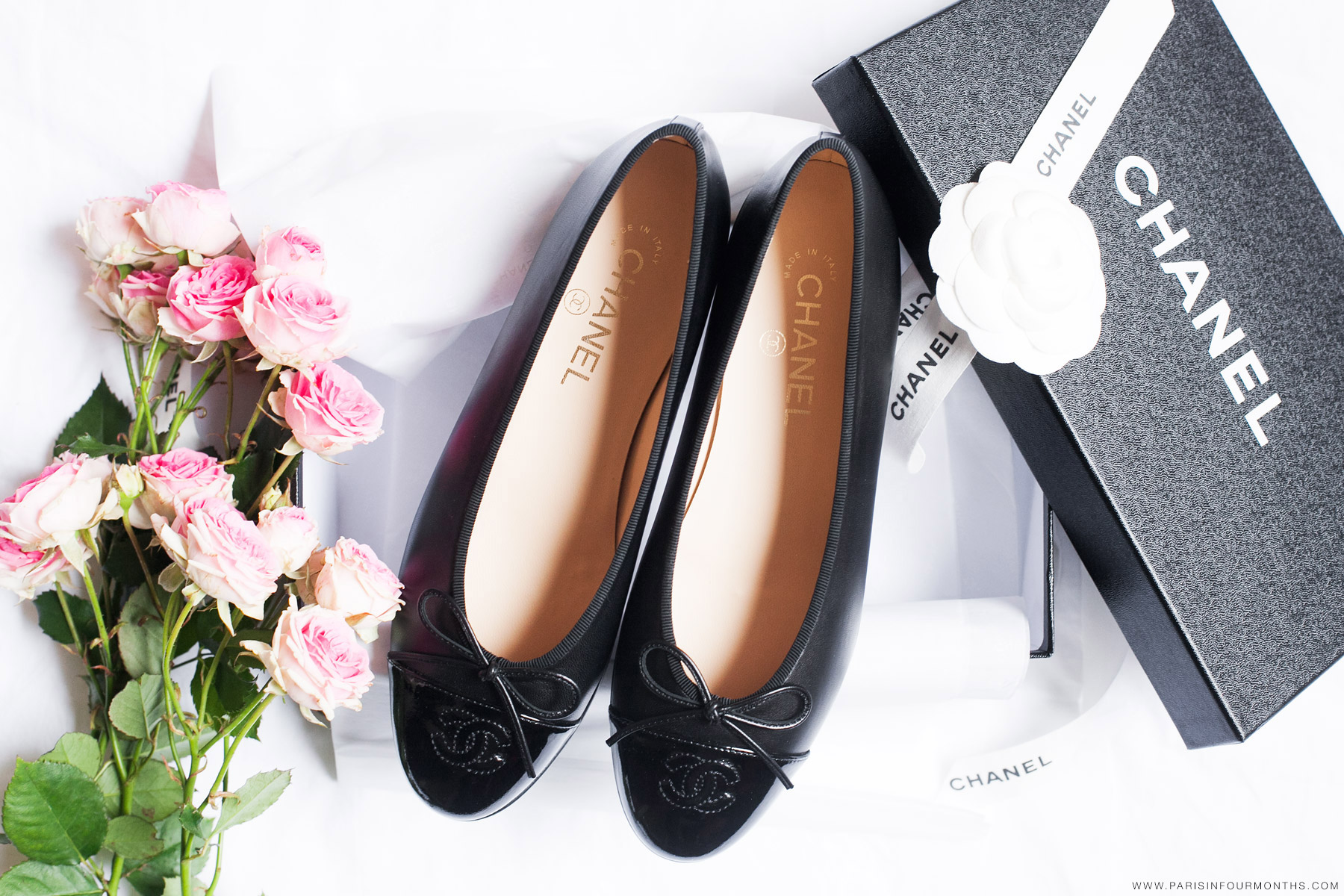 Chanel ballet flats by Carin Olsson (Paris in Four Months)