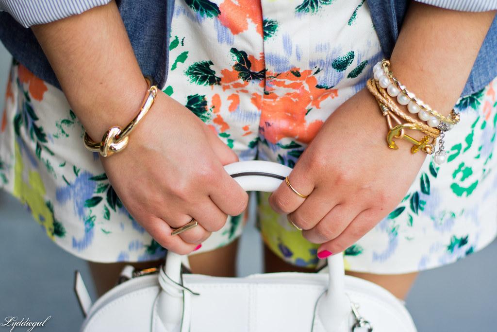 Floral shorts, chambray blazer, panama hat-8.jpg