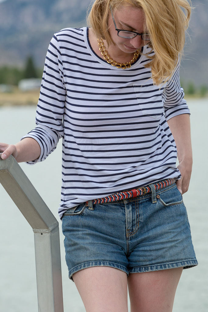 popbasic, le breton, striped shirt, dock, never fully dressed, withoutastyle, wyoming