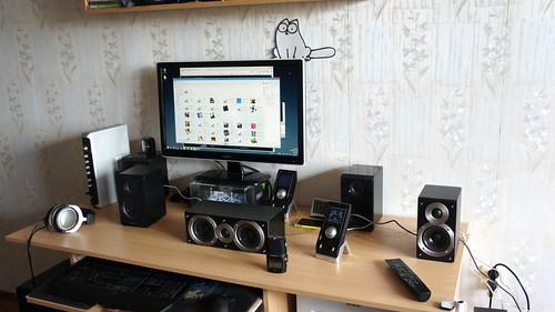 Edifier S760D   5.1 namų kino sistema, bet tinka ir PC