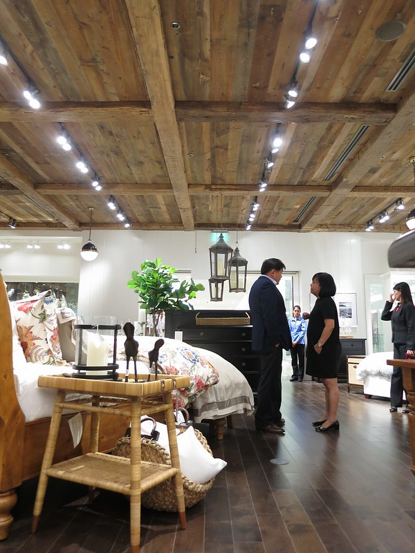 Pottery Barn opening in Manila