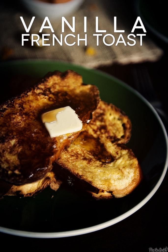 Vanilla French Toast || PasstheSushi.com