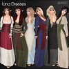 Iona Dresses for The Fantasy Collective
