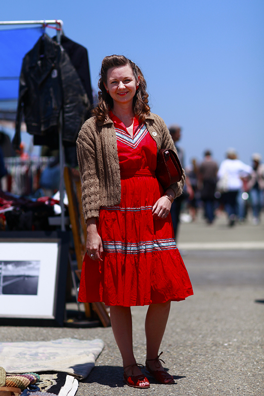 redmexicandress_alameda Alameda Flea Market, Quick Shots, street fashion, street style, women