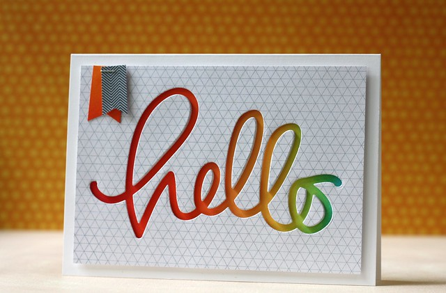 SSS~July Card Kit & Big Hello die