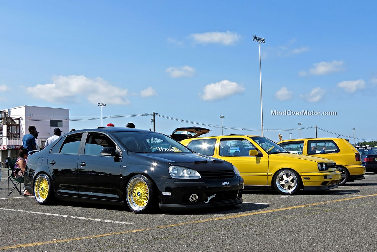 Waterfest 20 VW Jetta and Ginster Mk3 Golfs
