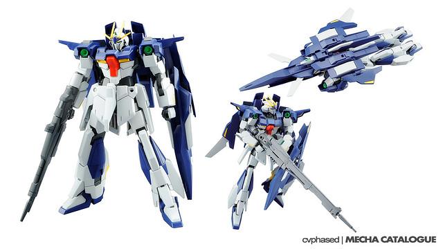 HGBF Lightning Gundam + HGBC Lightning Back Weapon System