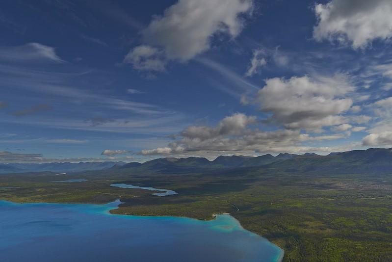 Lake Kathleen Panorama - Kluane National Park